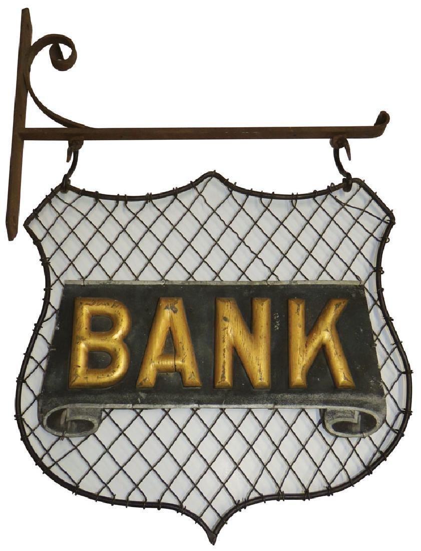 Bank Trade Sign - 2