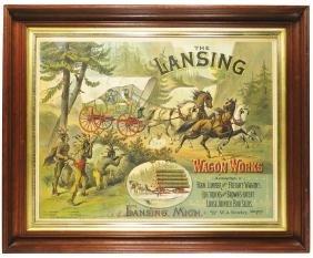 Lansing Wagon Sign