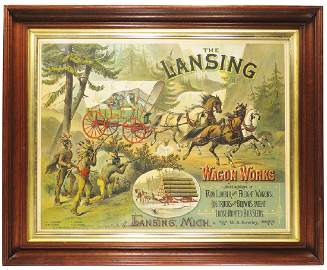 Lansing Wagon Sign