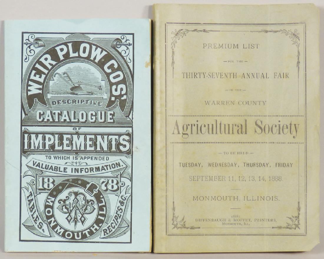 Weir Plow Co. Booklets