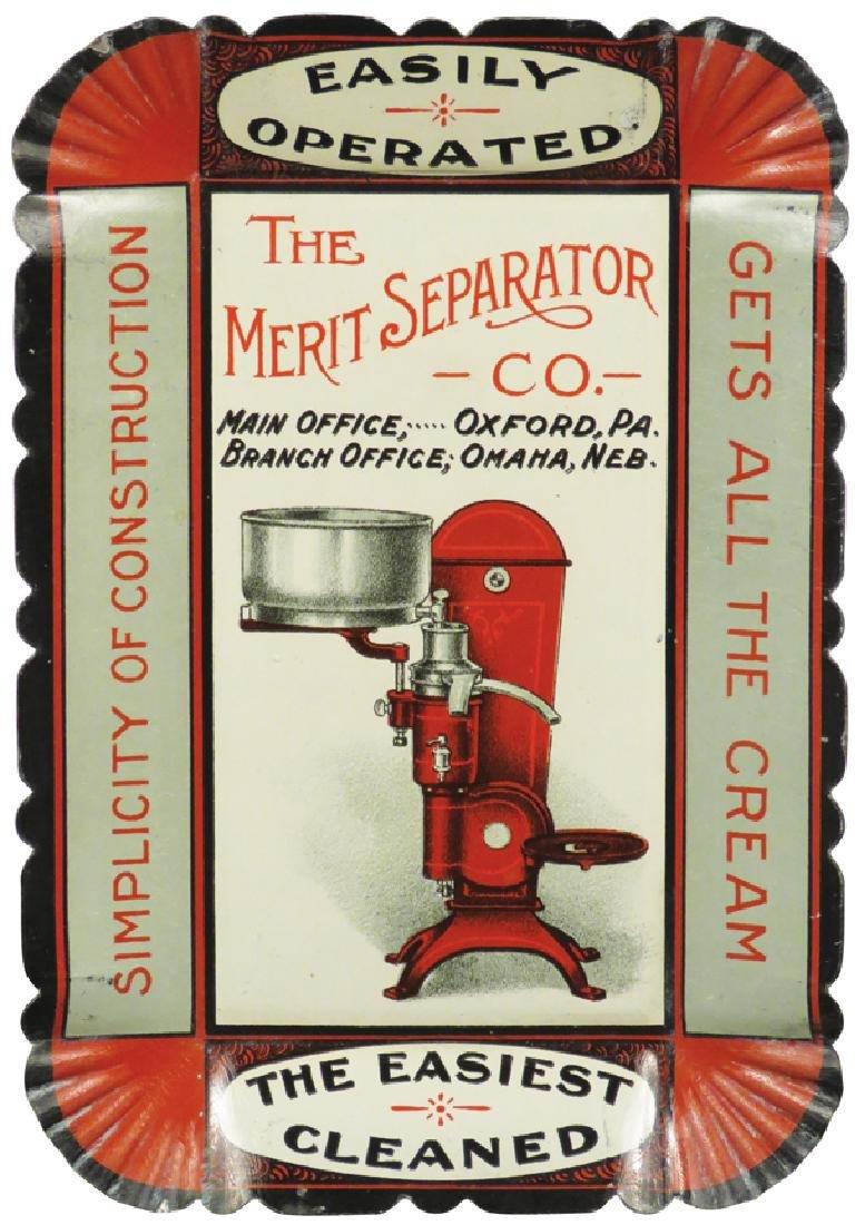 The Merit Separator Co. Tin Tip Tray
