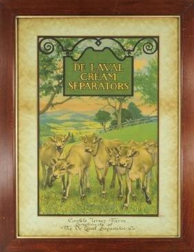 De Laval Cream Separators Original Artwork
