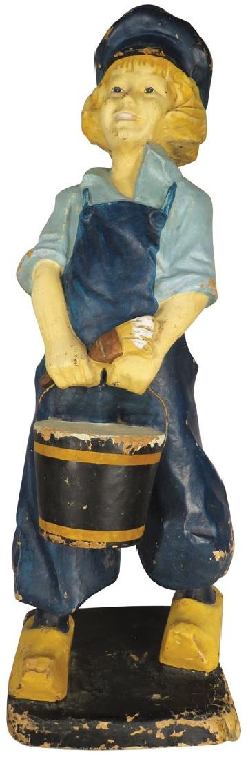 Dutch Boy Paints Paper Mache Store Display