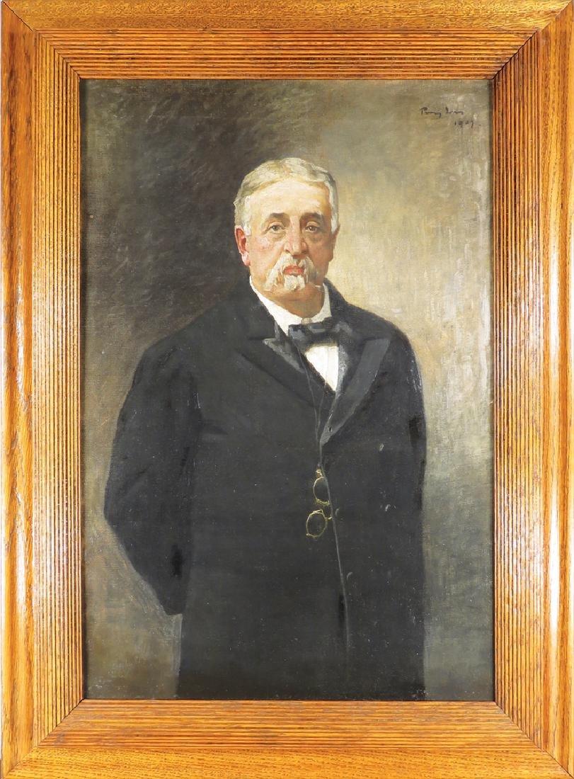 Original Oil Painting of Governor Hazen Pingree