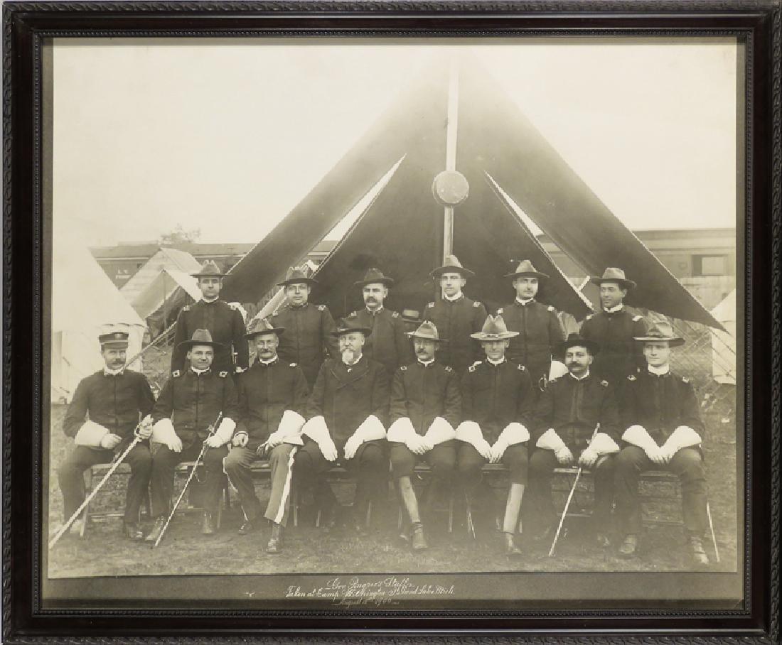 1900 Photo of Governor Pingree's Staffs