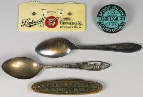 Collection of Detroit Items