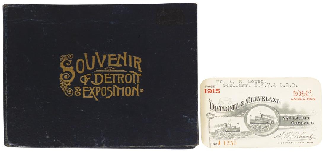 1889 International Fair and Exposition Book