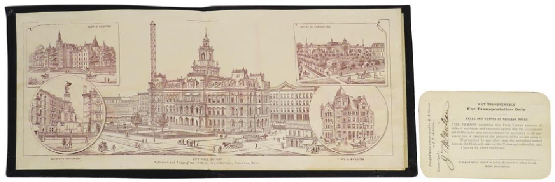 1889 International Fair and Exposition Book - 2