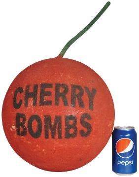 Cherry Bomb Fireworks Store Display