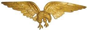 Cast Aluminum Eagle Plaque