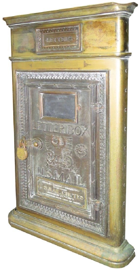 US Mail Chutes Letter Box Receptacle