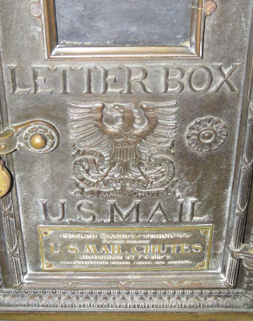 US Mail Chutes Letter Box Receptacle - 2