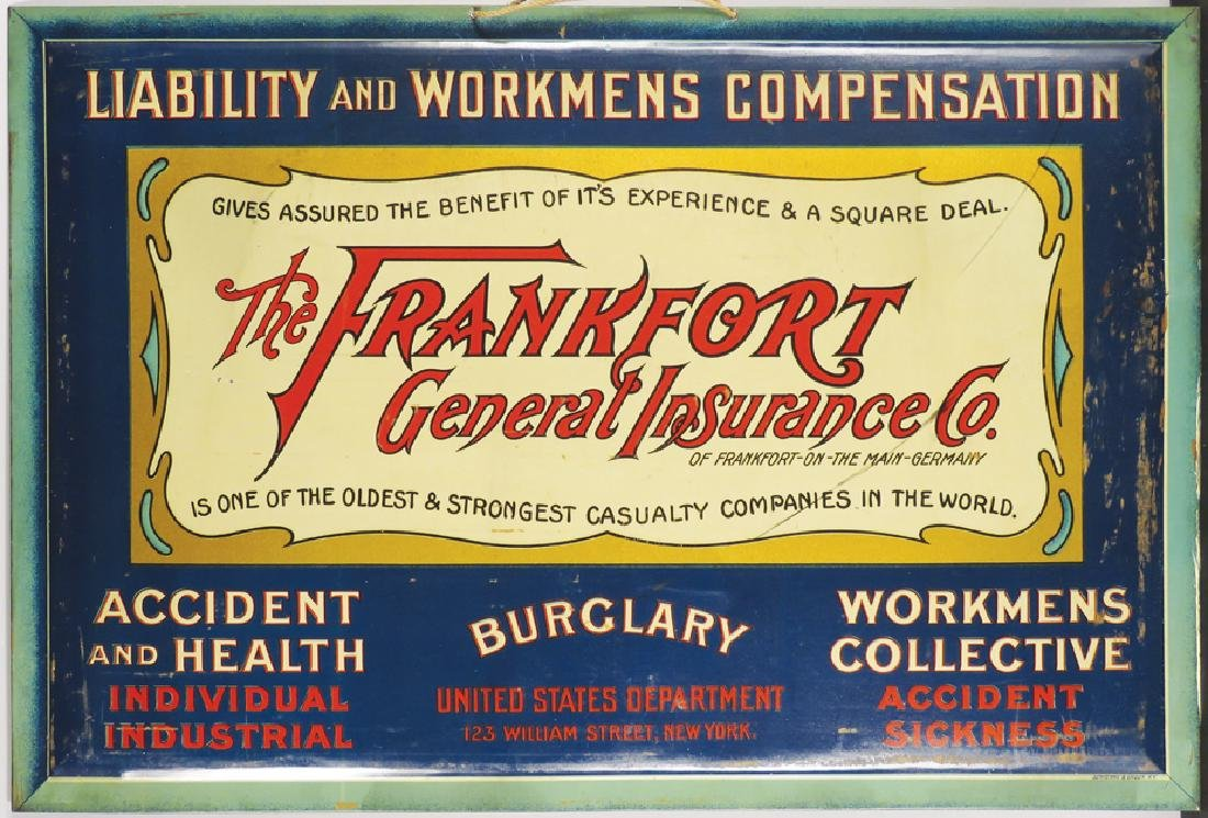 The Frankfort General Insurance Co. Sign