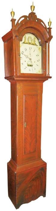 Masonic Grandfather Clock