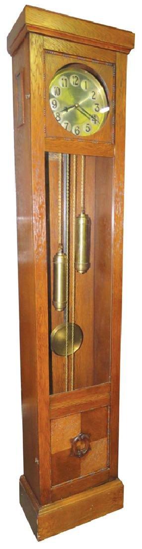 Oak Tall Grandfather Clock