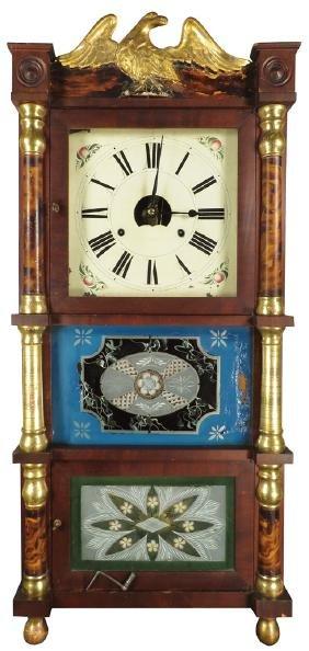 Birg, Peck & Co. Extra Eight Day Clock