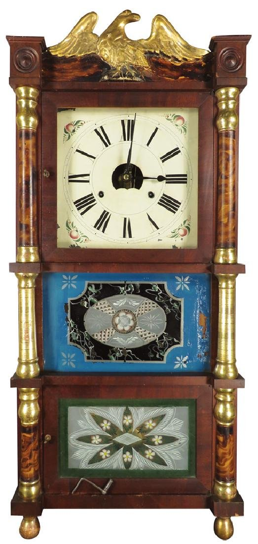 Birg, Peck & Co. Extra Eight Day Clock