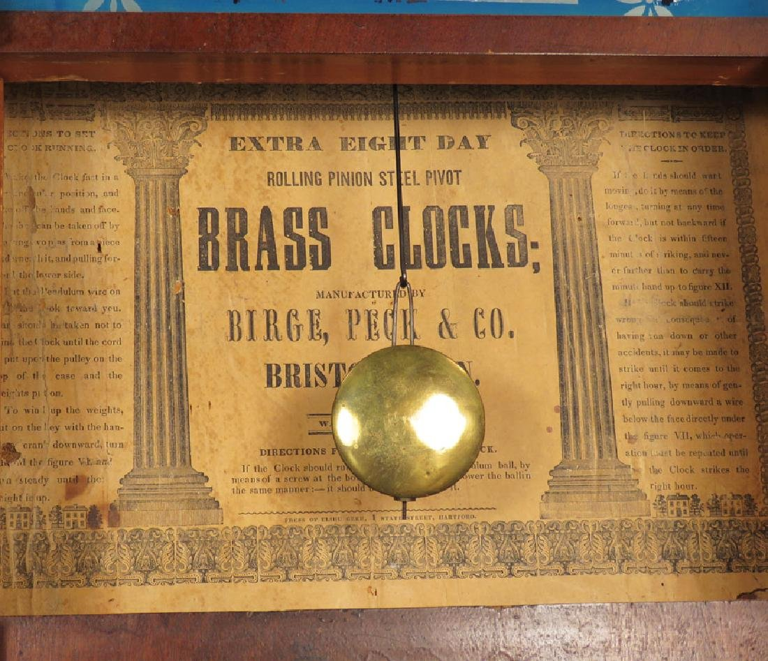 Birg, Peck & Co. Extra Eight Day Clock - 2