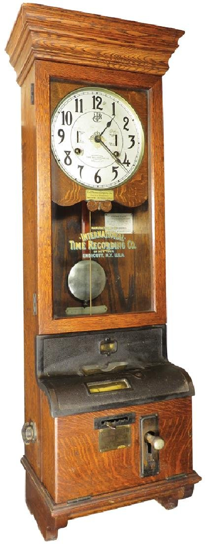 International Time Recording Co. Timeclock
