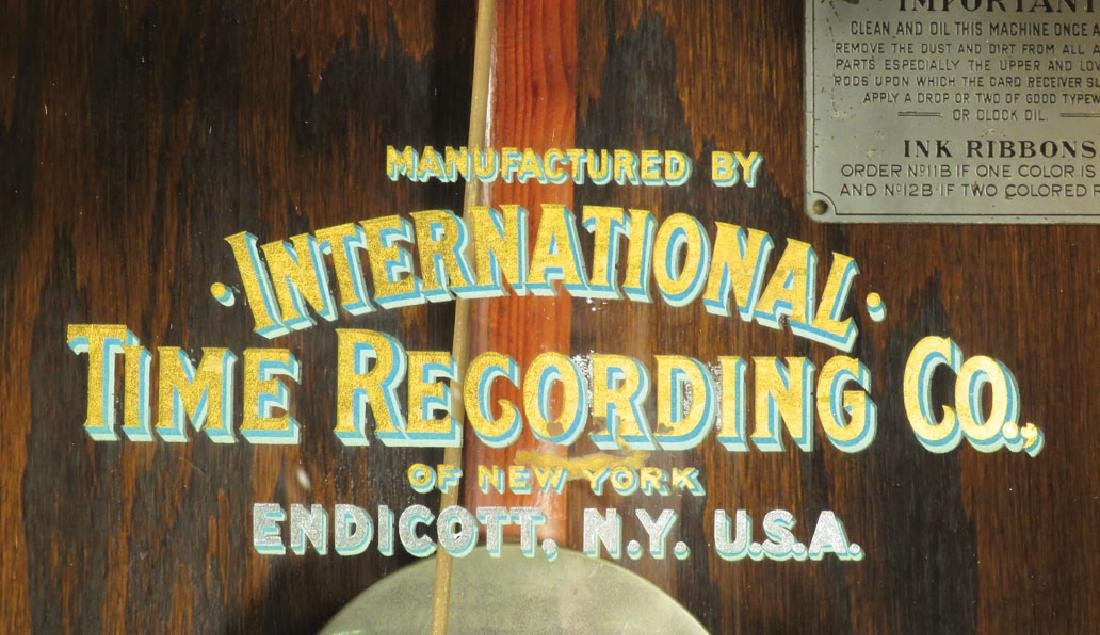 International Time Recording Co. Timeclock - 3