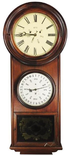 L.f. & W.w. Carter Extra Eight Day Clock