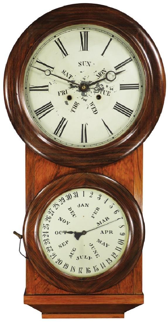 L.F. & W.W. Carter Office Mantle Clock