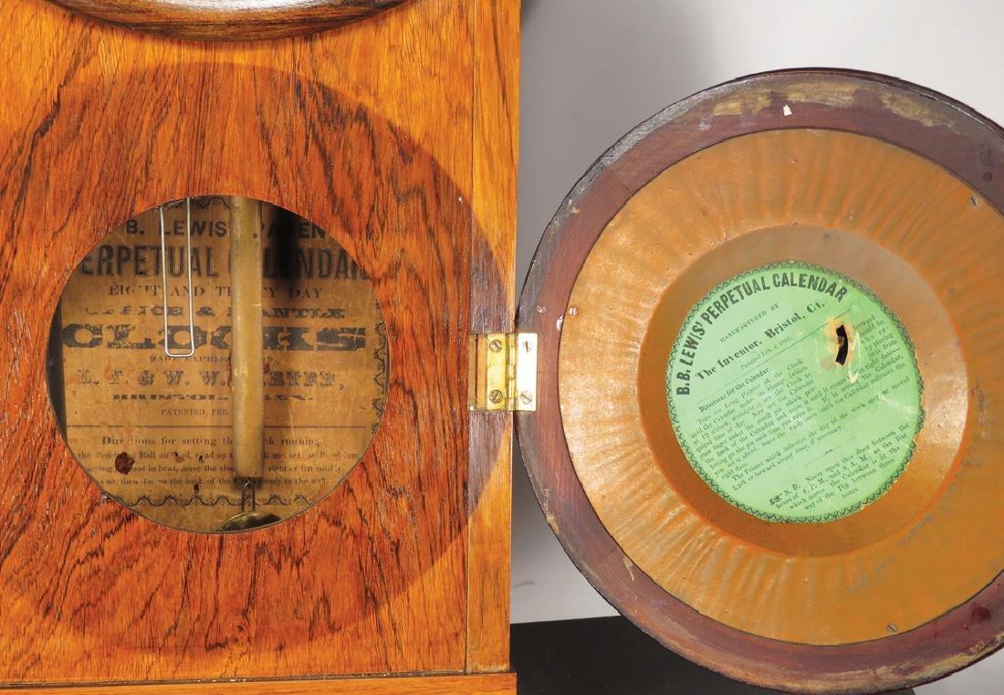 L.F. & W.W. Carter Office Mantle Clock - 2