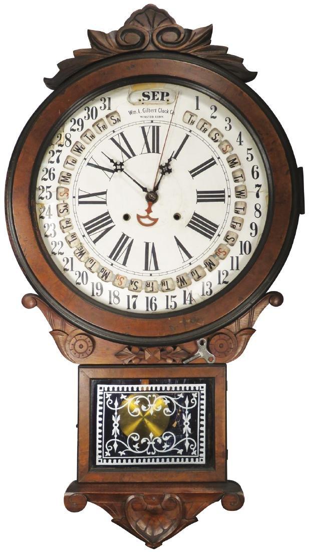 The Office Perpetual Calendar Clock