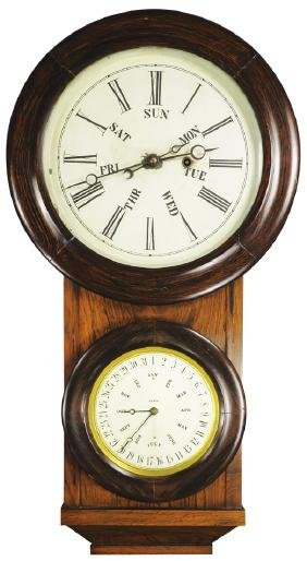 Lewis L.F. & W.W. Carter Office Mantle Clock