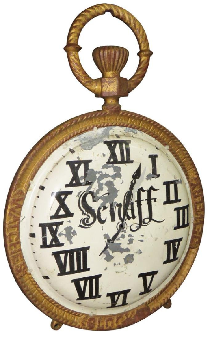 Jewelry, Watches & Clocks Zinc Trade Sign - 2