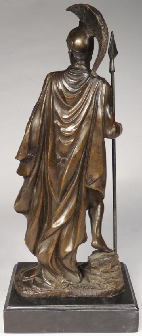 Spartan Warrior Bronze Statue - 2