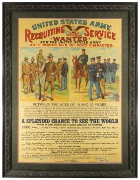 United States Army Recruiting Service Poster