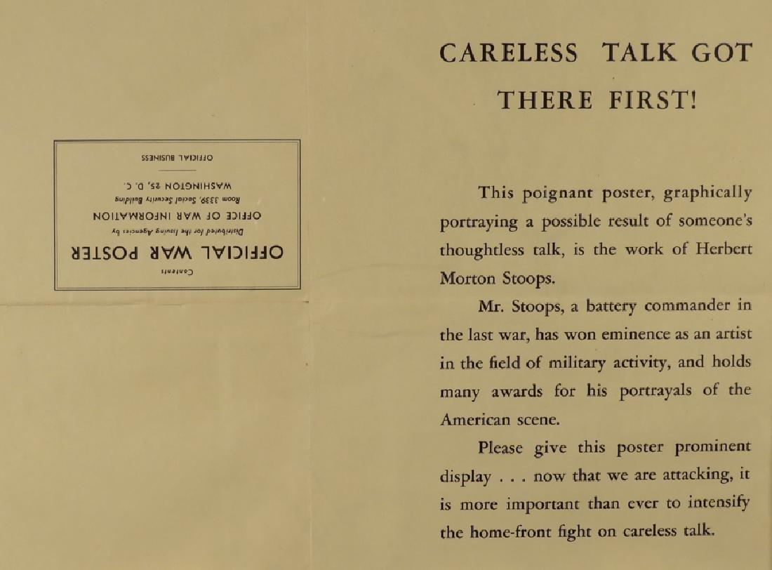 1944 War Poster - 2