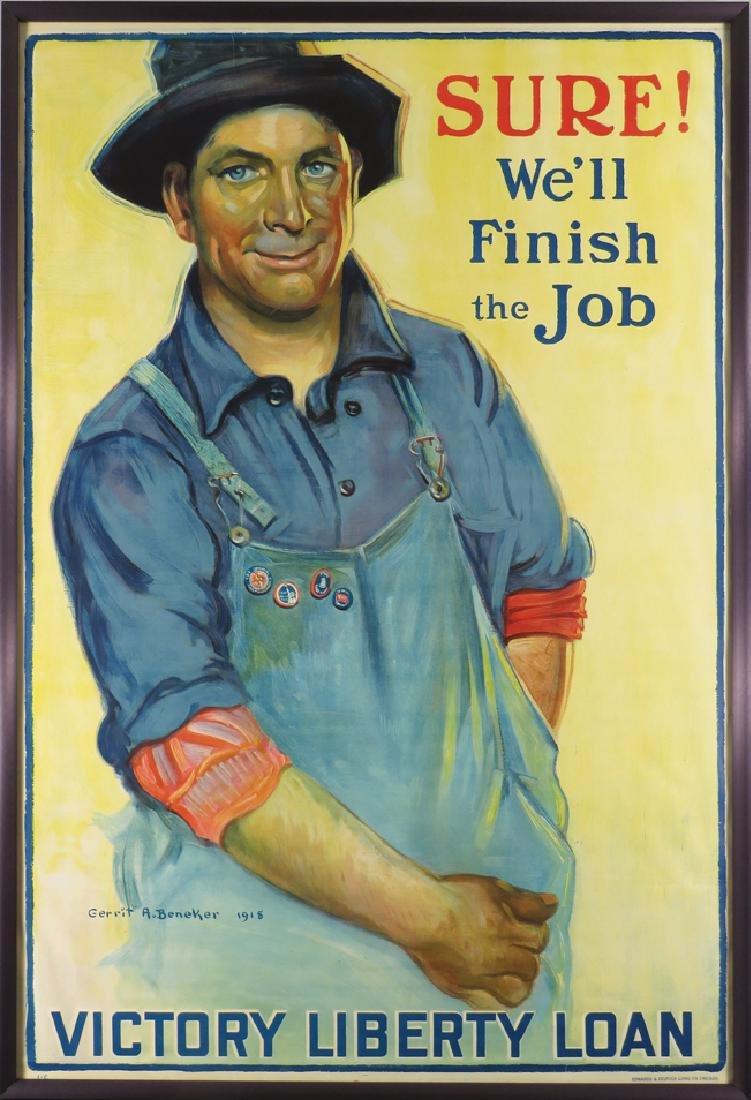 1918 Victory Liberty Loan Poster