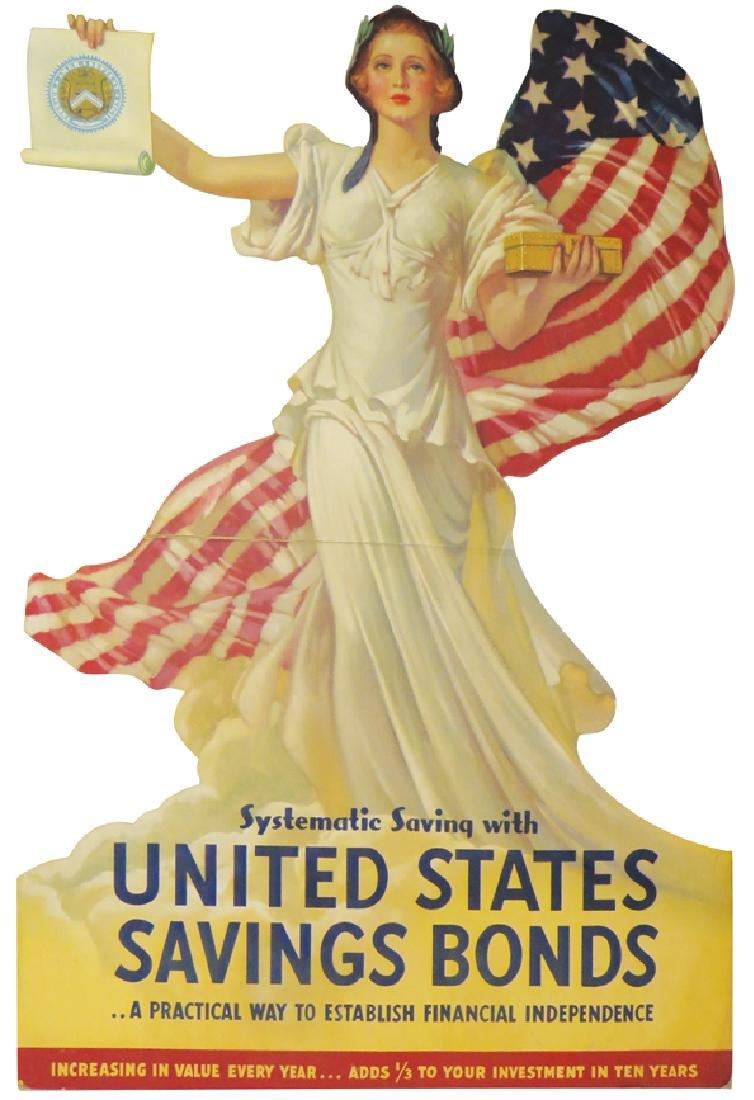 Lady Liberty, U. S. SavingsBonds Display