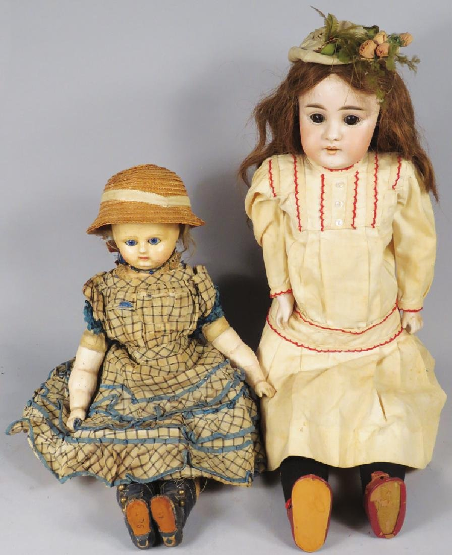 Two Antique Dolls