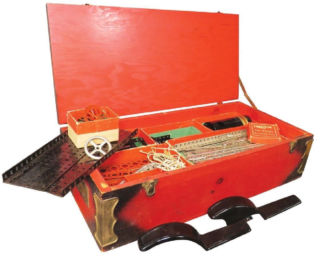 Vintage Toy A.C. Gilbert #7 Model Erector Set - 2