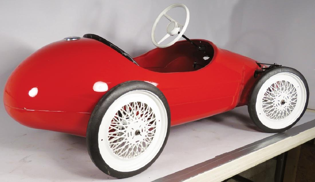 Child's Ferrari Pedal Car - 2