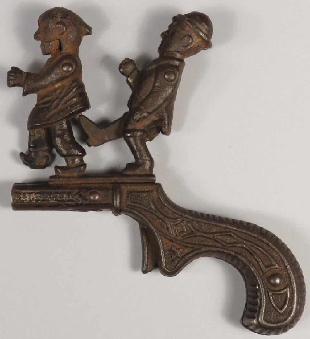 Cast Iron Cap Gun, The Chinese Must Go - 2