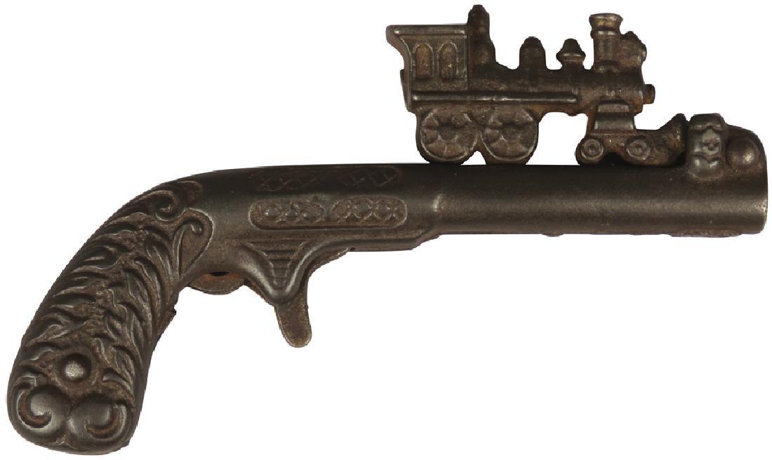 Cast Iron Cap Gun, Lightning Express