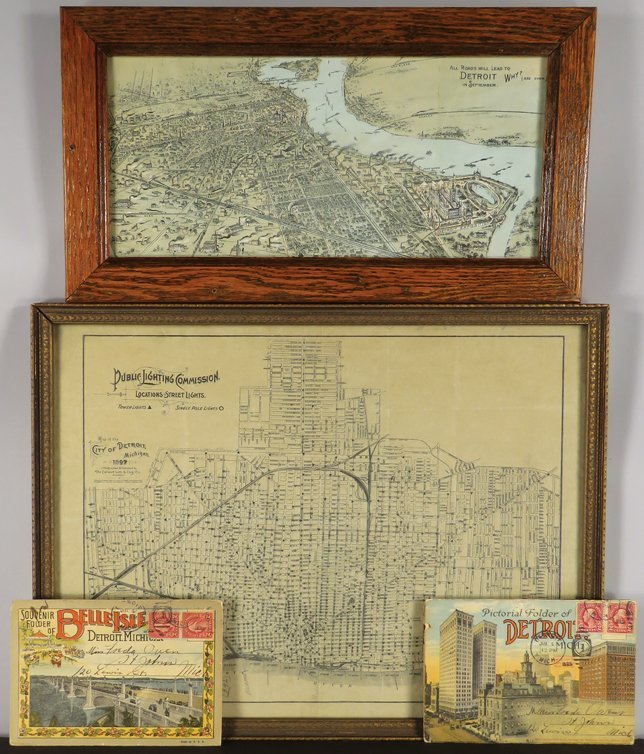 Collection of Detroit Ephemera