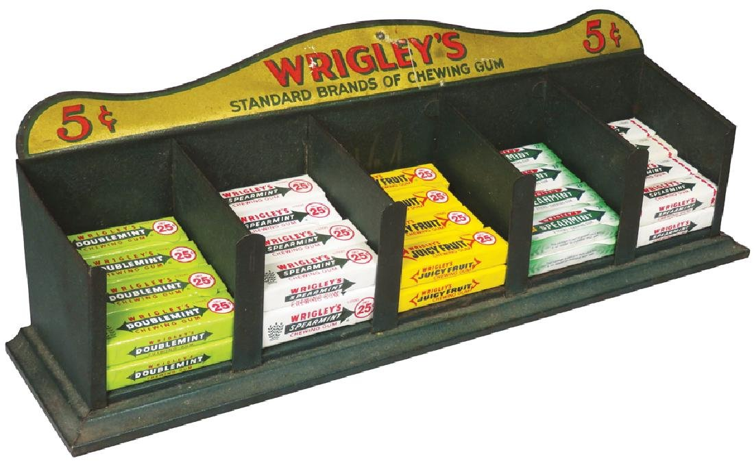 Wrigley's Chewing Gum Tin Store Display