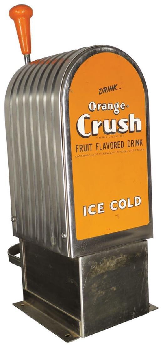 Orange Crush Soda Fountain Dispenser