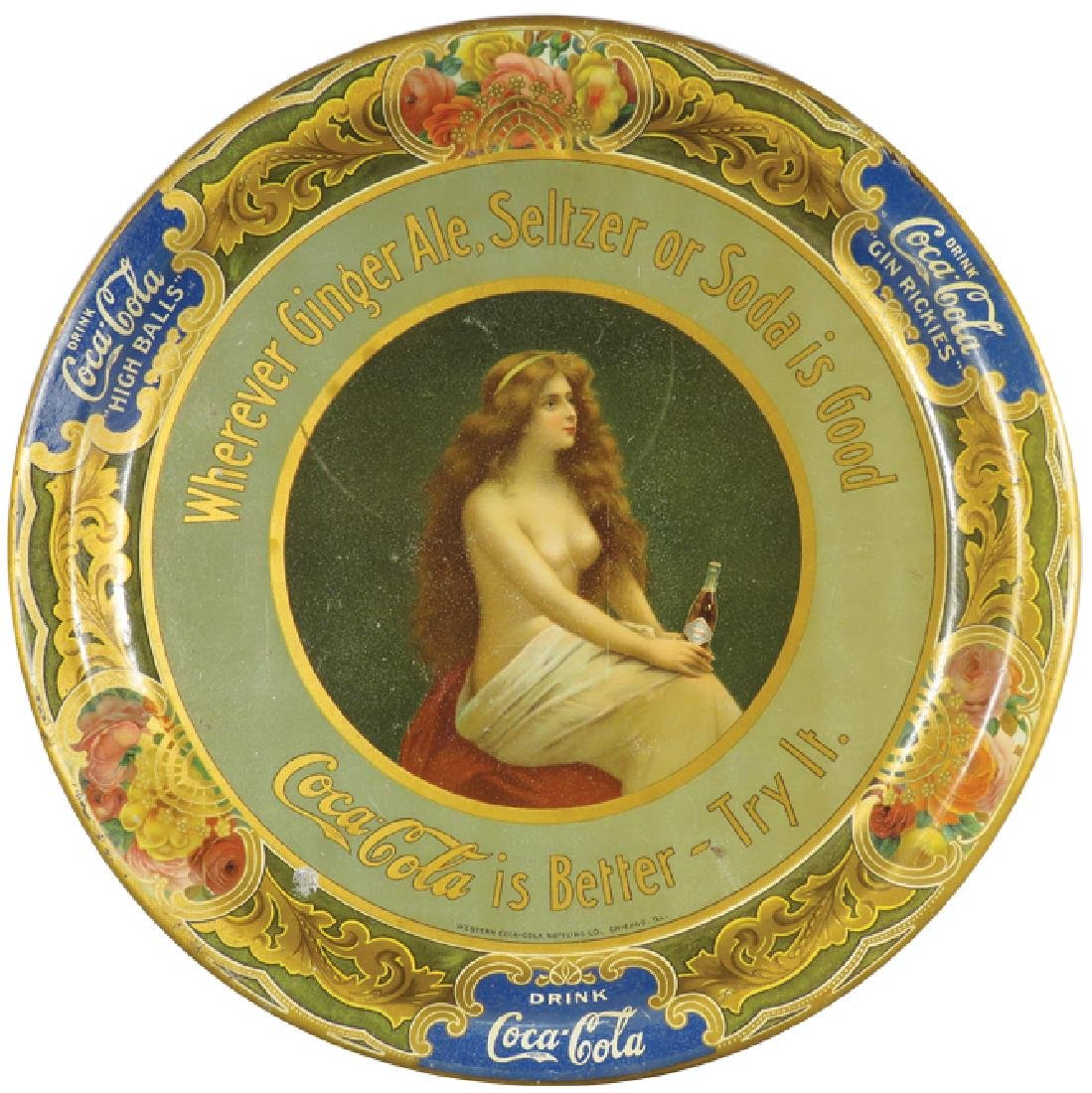 Western Coca-Cola Bottling Co. Topless Tray