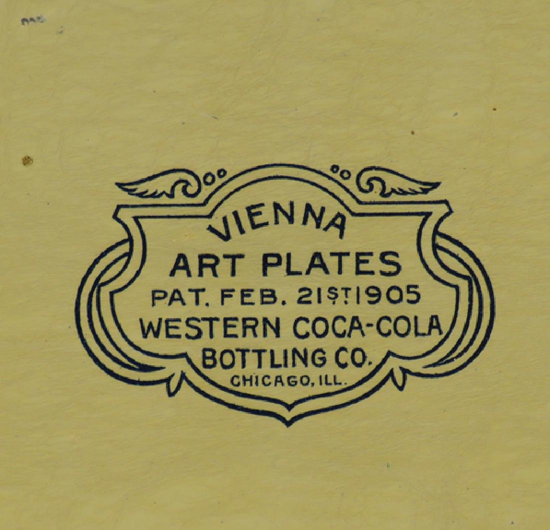 1905 Coca Cola Western Bottling  Art Plate - 2