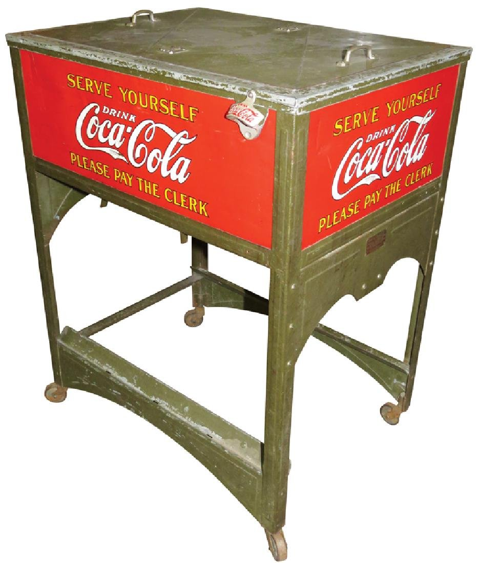 Coca Cola Glasscock Cooler