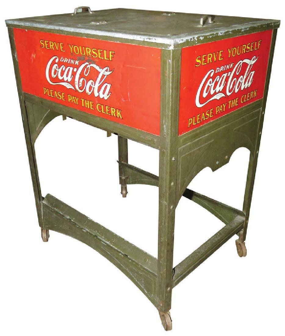 Coca Cola Glasscock Cooler - 2