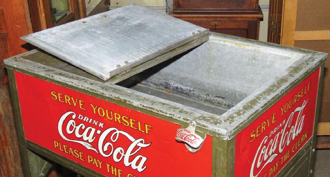 Coca Cola Glasscock Cooler - 3