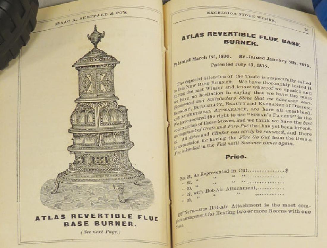 1876 Catalog for Excelsior Stove Works - 2