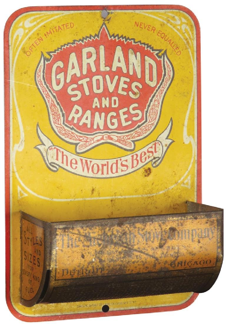 Garland Stoves and Ranges Tin Match Holder